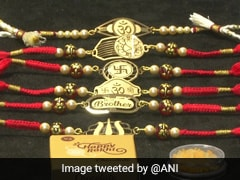 Gujarat Jewellers Selling Gold, Silver <i>Rakhis</i> Ahead Of Raksha Bandhan