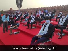 Neeraj Chopra, PV Sindhu, Mirabai Chanu Highlight India's Olympic Contingent At 75th Independence Day Celebrations