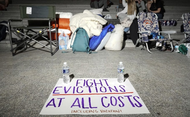 Millions Of Americans Risk Eviction As Virus Cases Spike