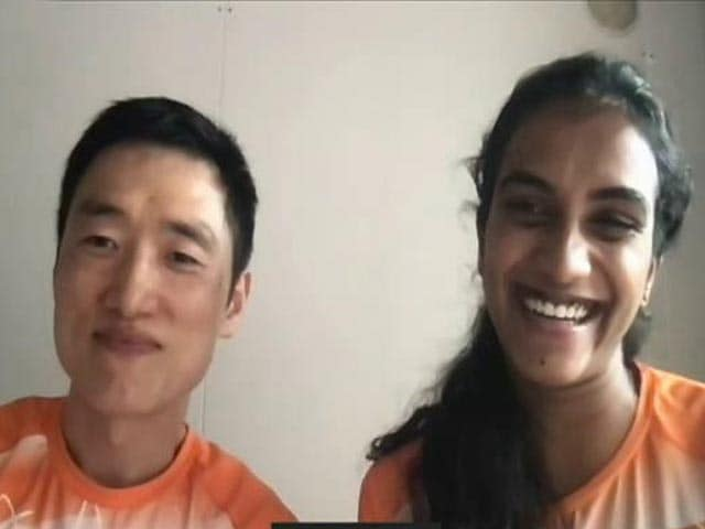 """Video : """"Its All Park Tae-Sang's Effort And Hardwork,"""" PV Sindhu Tells NDTV After Olympic Bronze"""