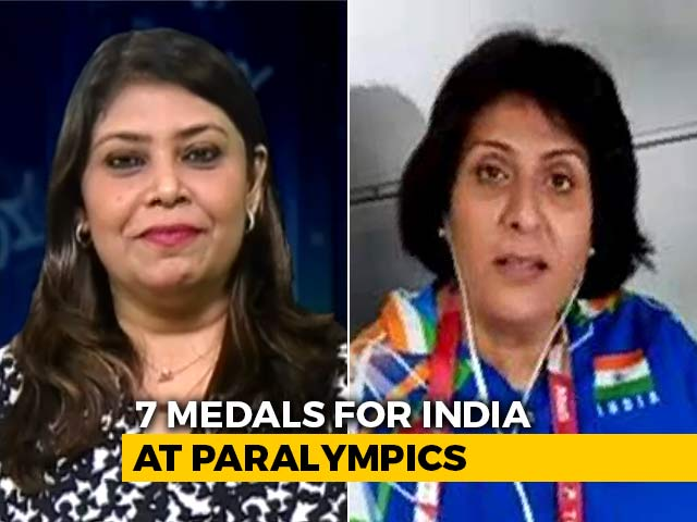 Video : Shivering With Excitement After Sumit Antil's Gold: Deepa Malik