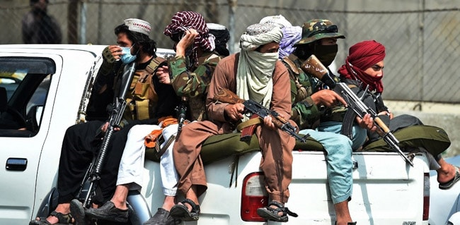Taliban Seize Truck Carrying Weapons To Pakistan: Report