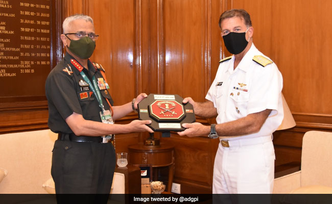 US Commander's India Meetings Feature China's Military Expansion