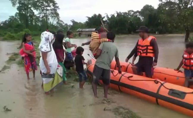Assam Floods Affect Over 1.33 Lakh Across 11 Districts