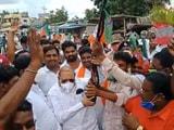 Video : Celebratory Firing At BJP's Jan Ashirwad Rally In Karnataka, 4 Arrested