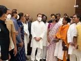 Video : Rahul Gandhi Leads Opposition Breakfast Meet To Plan Parliament Offensive