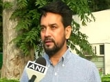 """Video : PV Sindhu Dominated Entire Game, """"Smashing Victory For Her"""": Anurag Thakur"""
