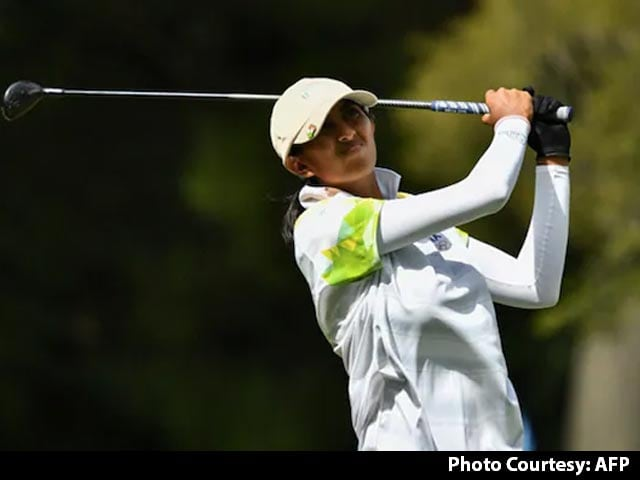 Video : Golfer Aditi Ashok Misses Olympic Medal By A Whisker, Finishes 4th