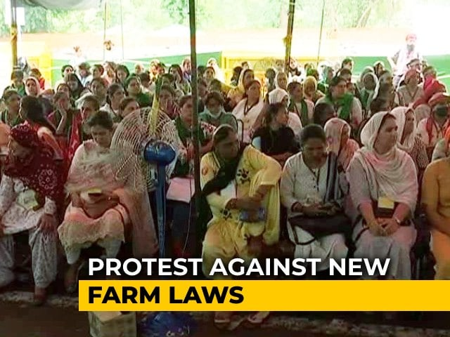 Video : Women Farmers Hold Kisan Sansad To Protest Against Farm Laws