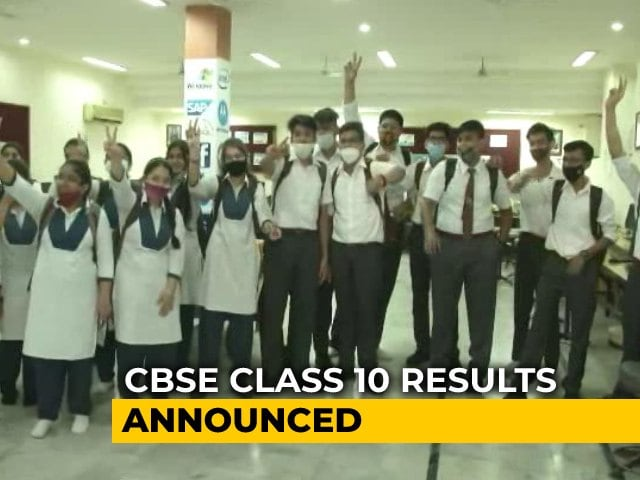 Video : CBSE 10th Result 2021: 99.04% Students Pass; Girls Outshine Boys By Narrow Margin