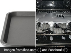 UK Woman Mistakes IKEA's Plastic Tray For Baking Tray, Shocked To See It Melt In Oven