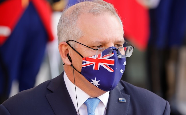 Australia's PM Defends Lockdown Strategy Until Majority Vaccinated