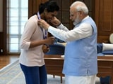 """Video : Sindhu """"Will Now Have Ice-Cream With PM"""", Says Father After Tokyo Heroics"""