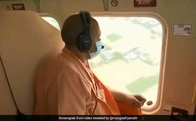 Uttar Pradesh Chief Minister Yogi Adityanath Reviews Flood-Affected Districts