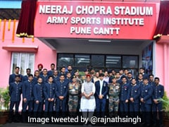 Rajnath Singh Renames Army Sports Institute Stadium In Pune After Neeraj Chopra