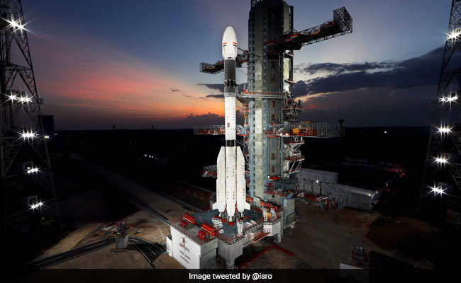 Countdown For Launch Of ISRO's Earth Observation Satellite Begins