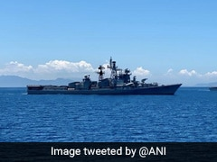 India And Philippines Conduct Naval Drills In South China Sea