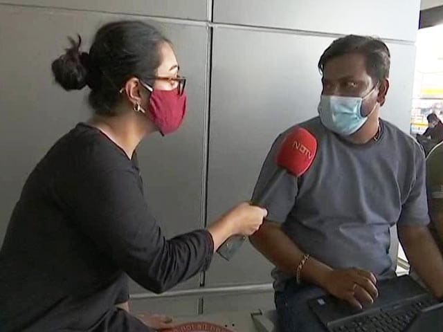 """Video : """"Were Really Scared Till We Left"""": Chennai Man Describes Journey From Kabul"""