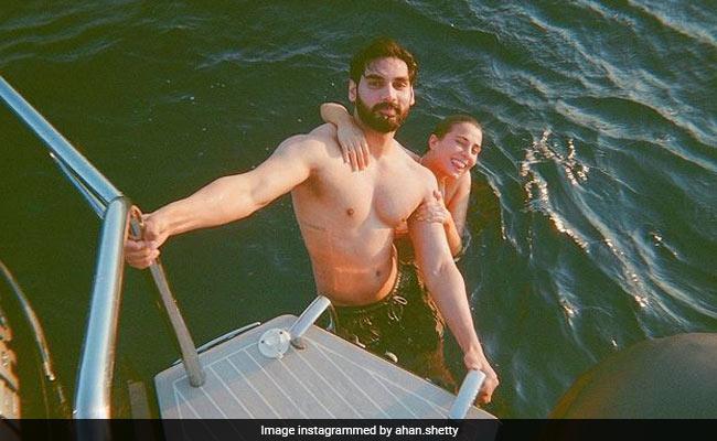 Ahan Shetty And Girlfriend Tania Shroff Bid Adieu To Summer With Vacation Memories