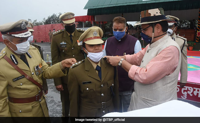 In A First, ITBP Inducts Two Women Officers In Combat