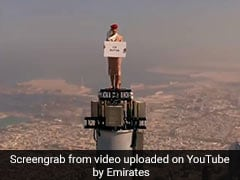 Was This Viral Emirates Ad Really Filmed On Top Of Burj Khalifa?