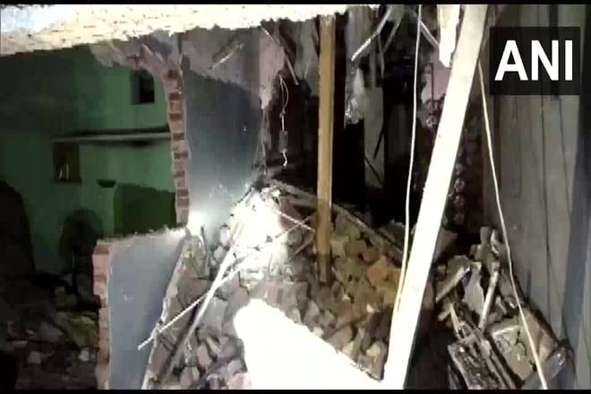 Residential Structure Collapses In UP's Agra, 2 Killed, 15 Injured