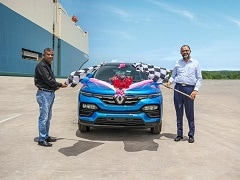 Renault India Begins Exporting Kiger Subcompact SUV To South Africa