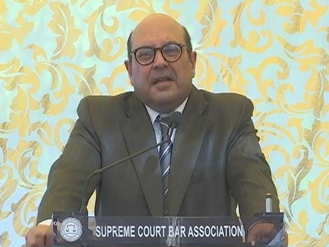 """Video : Justice RF Nariman Retires, Chief Justice Says """"Losing One Of The Lions"""""""