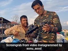 Watch: Sonu Sood Surprises Srinagar Street Hawker. Then Just... Bargains