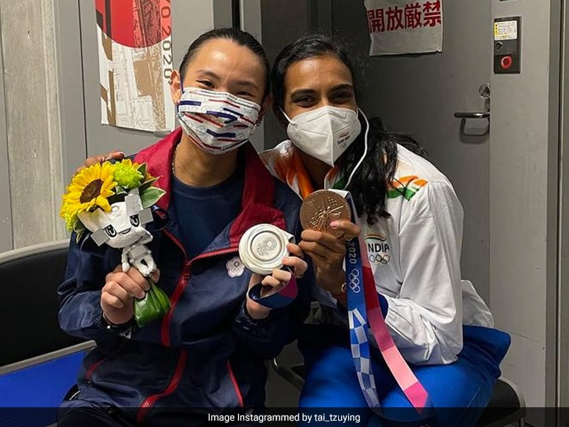 """Tokyo Olympics: """"PV Sindhus Sincere Encouragement Made Me Cry,"""" Says Tai Tzu Ying"""