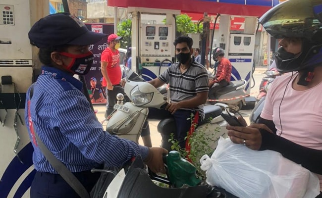 Fuel prices all the time.  Petrol hits Rs 104 - in Delhi, last went up to Rs 10 in Mumbai
