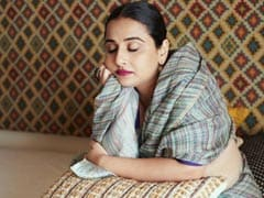 """Vidya Balan Was """"Done Shooting"""" But Her Team Wasn't. So, She Did This"""