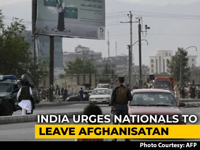 """Video : India Urges Its Nationals To Leave Afghanistan On """"Special Flight"""" Today"""