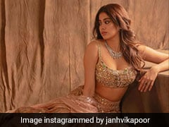 For Rhea Kapoor's Wedding, From Janhvi Kapoor To Masaba Gupta, Celebrities Are Looking Ultra-Glam For Wedding Festivities