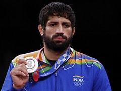 """Emotional"" Sushil Kumar Watched Wrestler Ravi Dahiya's Olympics Bout In Jail"