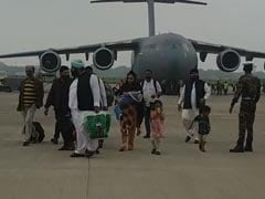 Photos: Air Force Plane With 168 People From Kabul Reaches India
