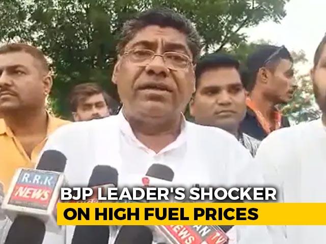 Video : 'Go To Taliban. Petrol Cheaper In Afghanistan': BJP Leader To Journalist