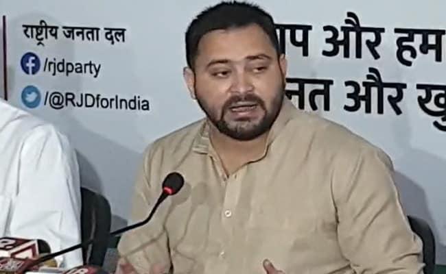 "Bypoll Win By RJD Could Result In ""Khela"" In Bihar: Tejashwi Yadav"
