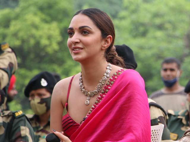 "Video : Kiara Advani On Meeting Captain Vikram Batra's Fiancee: ""Salute Her For Her Courage"""