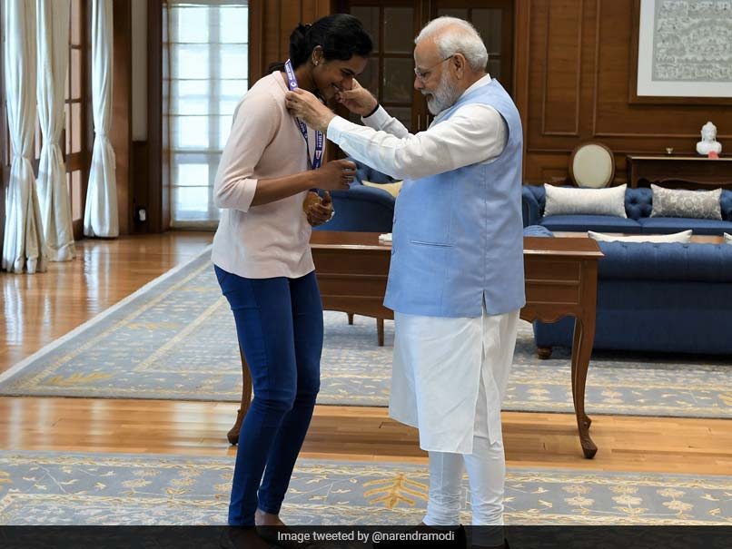"""After Historic Bronze At Tokyo Olympics, PV Sindhus Father Says She """"Will Now Have Ice-Cream With PM Modi"""""""