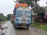 Video : Assam Locals Stop Over 100 Trucks Transporting Goods To Mizoram