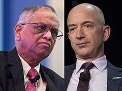 Jeff Bezos, Narayana Murthy To End India Venture Amid Anti-Trust Probe