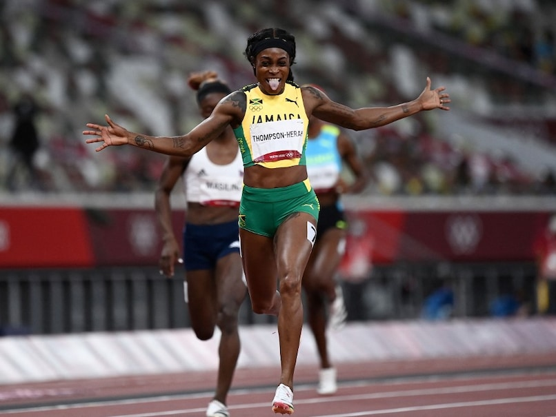 Tokyo Games: Jamaicas Elaine Thompson-Herah Wins 200m To Seal Olympic Double