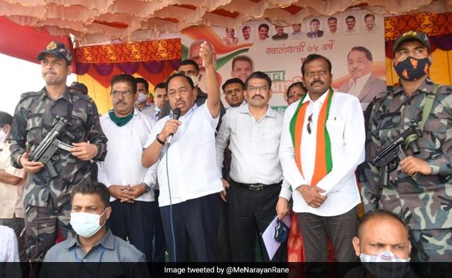 Narayan Rane To Resume 'Jan Ashirwad Yatra' In Maharashtra Soon: Report