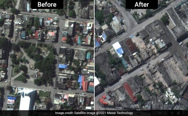 Before And After Satellite Photos Capture Haiti Earthquake Devastation
