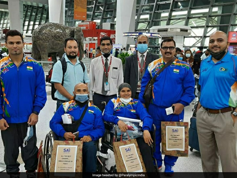Paralympics: Indian Powerlifters Depart For Tokyo With Eye On Medal