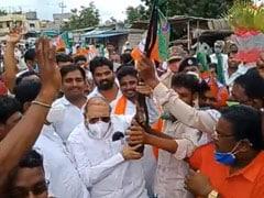 Celebratory Firing At BJP's Jan Ashirwad Rally In Karnataka, 4 Arrested