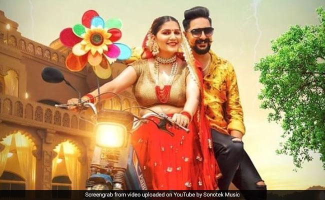 Sapna Choudhary Haryanvi Song Fatafatiya Released - Sapna Choudhary Song: सपना चौधरी का हरियाणवी गाना फटफटिया रिलीज के साथ वायरल, खूब मचा रहा धूम   Bhojpuri News In Hindi