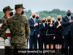 """""""Ultimate Sacrifice"""": Biden Leads Tributes To US Troops Killed In Kabul"""