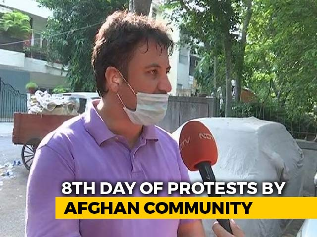Video : Taliban Killed My Brother For Working For US Troops: Afghan Man In Delhi